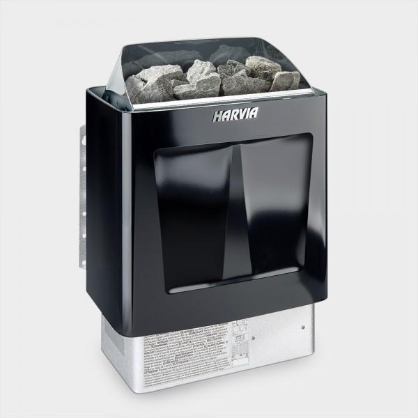 Saunaofen Harvia Trendi Black 6 / 9 kW 400 V