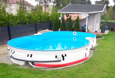 Extrem Aufbau von Stahlwand-Pools in 9 Schritten | POOLSANA - Der Pool JB03