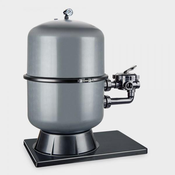 Geteilter Filterbehälter Premium 500 mm anthrazit