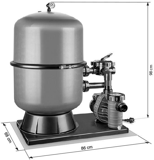 Abmessungen PREMIUM 500 / AquaPlus