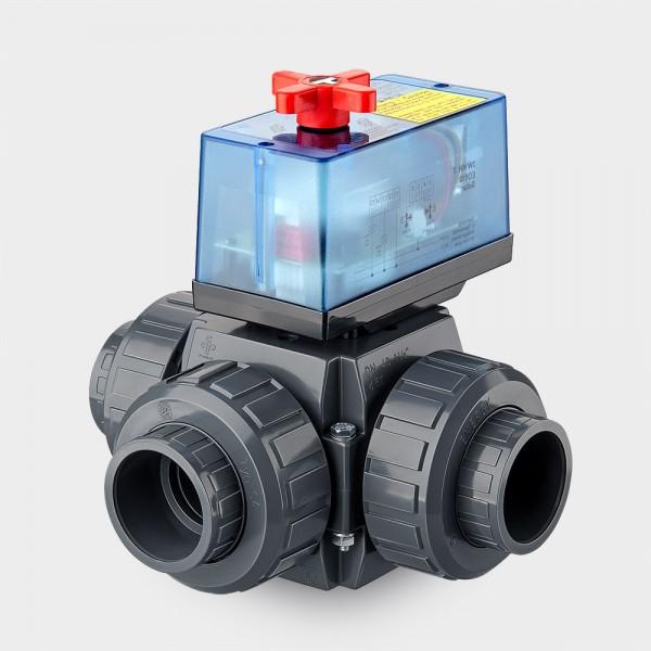 3-Wege-Motorventil 230 V | 50 mm