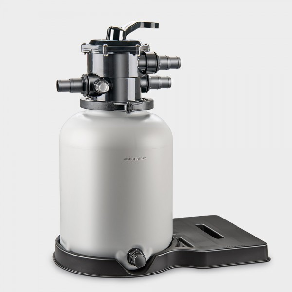 Filterbehälter Ø 300 mm mit 7-Wege-Rückspülventil