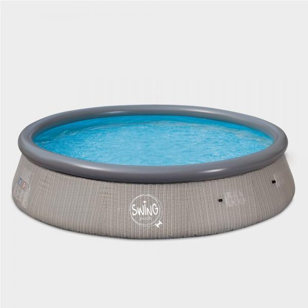 Quick-Up-Pool PRONTO Wicker 366 x 91 cm