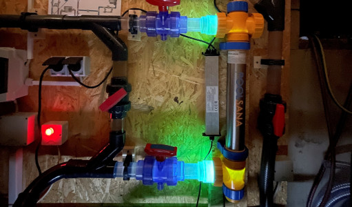 Detail POOLSANA UV-Entkeimungsgerät