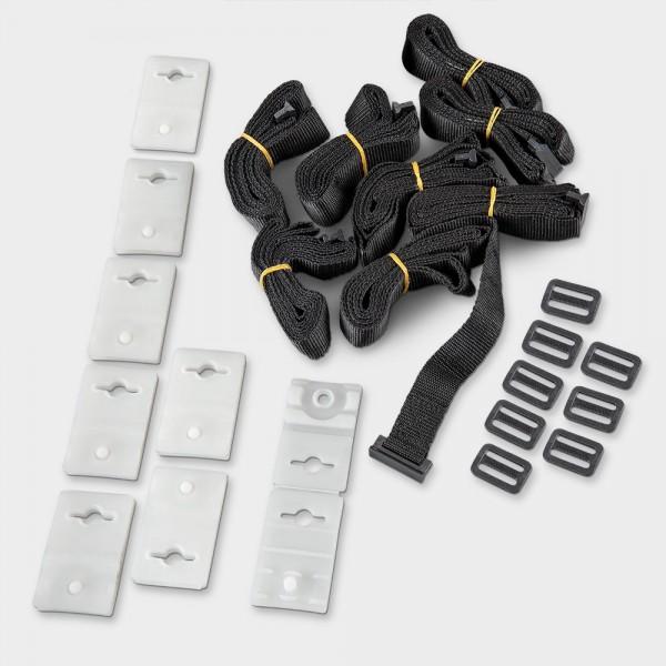 Satz Befestigungsbänder zum Einhängen