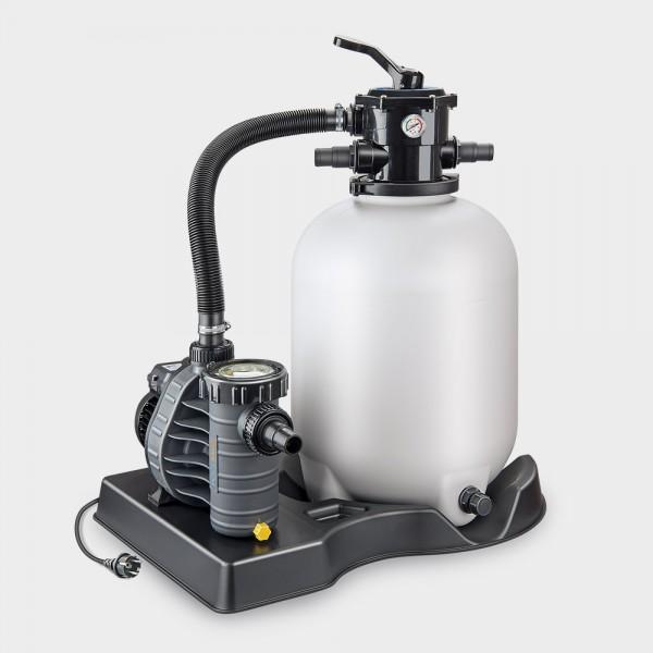 Sandfilteranlage Pro 400/AquaPlus 8 POOLSANA-Edition anthrazit