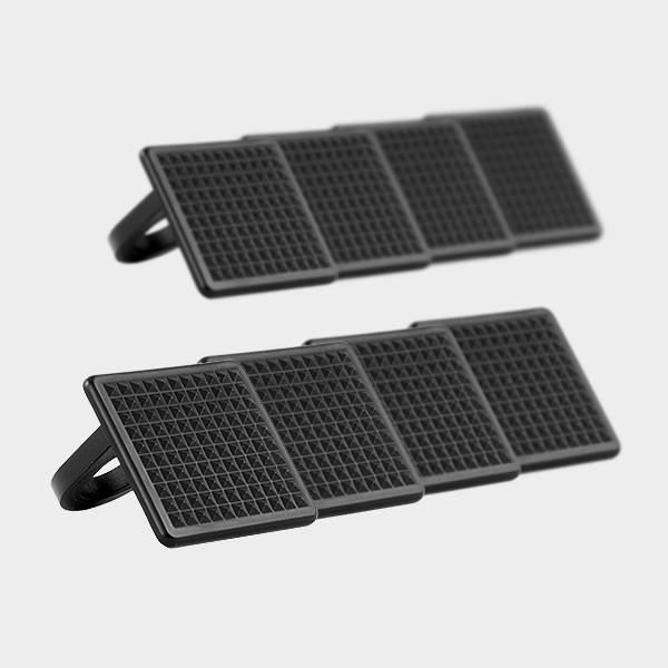 Auflageplättchen schwarz für Plus Leiter (8 Stück)