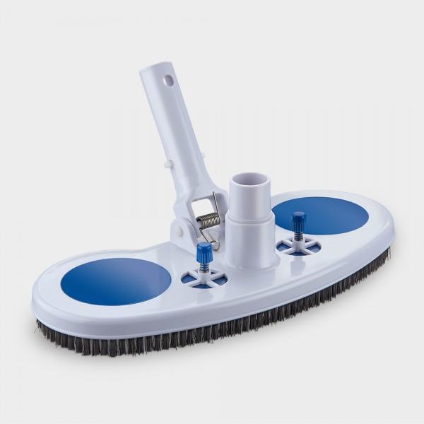 Pool-Reinigungsbürste mit Unterdruckventilen
