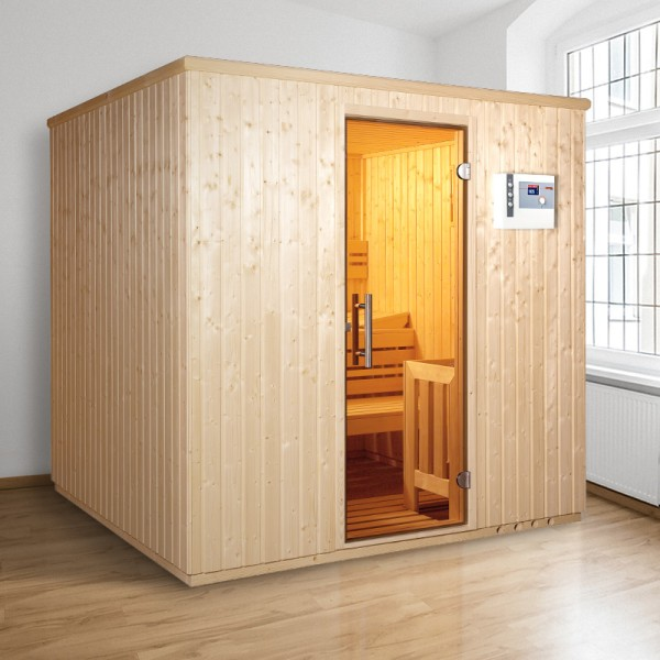 Top-Hit: Elementsauna Comfort Iso 210 x 210 x 200 cm