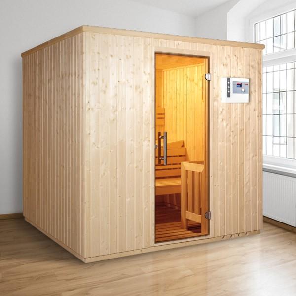 Top-Hit: Elementsauna Comfort Iso 210 x 210 x 200 cm