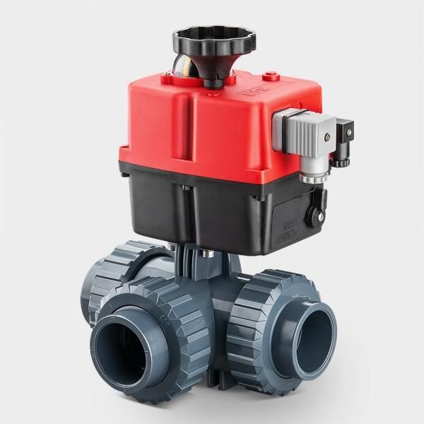 3-Wege-Motorventil PROMO 230 V | 50 mm