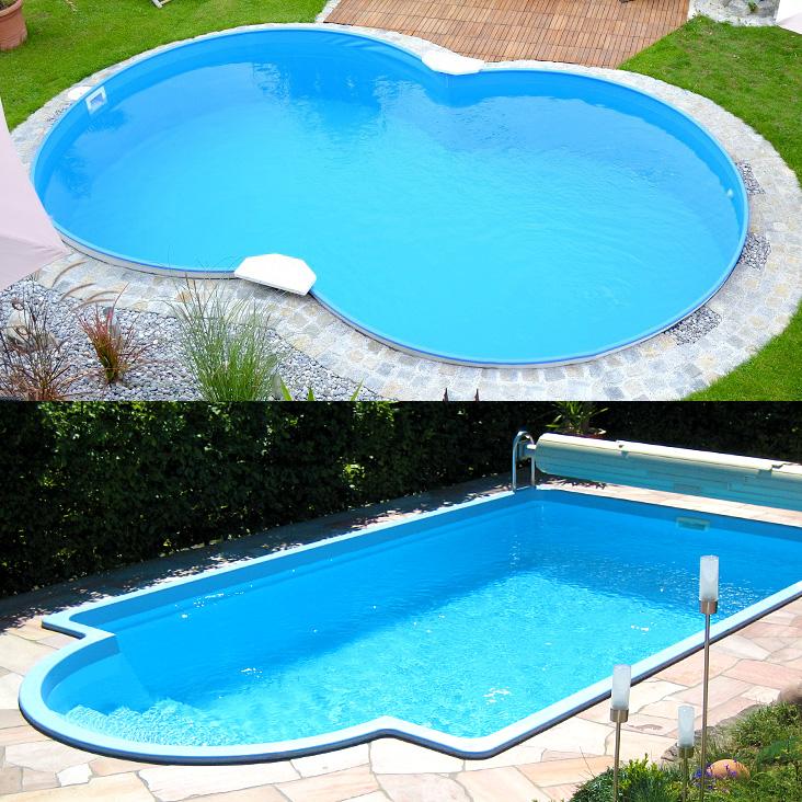 Poolbauvarianten im Vergleich