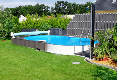 aufbau von stahlwand pools in 9 schritten poolsana der pool sauna fachdiscount. Black Bedroom Furniture Sets. Home Design Ideas