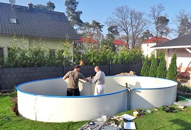 Bekannt Aufbau von Stahlwand-Pools in 9 Schritten | POOLSANA - Der Pool NC98