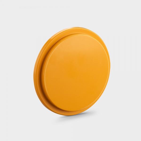 Wasserseitiger Blindstopfen (groß) orange