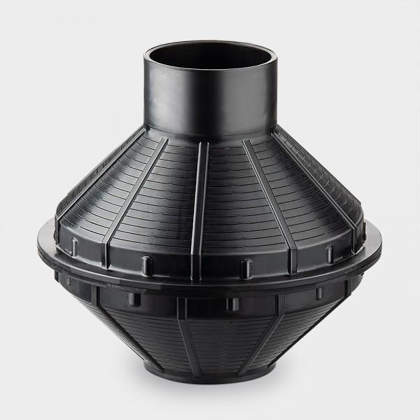 Universal-Filtertopf ohne Rohr