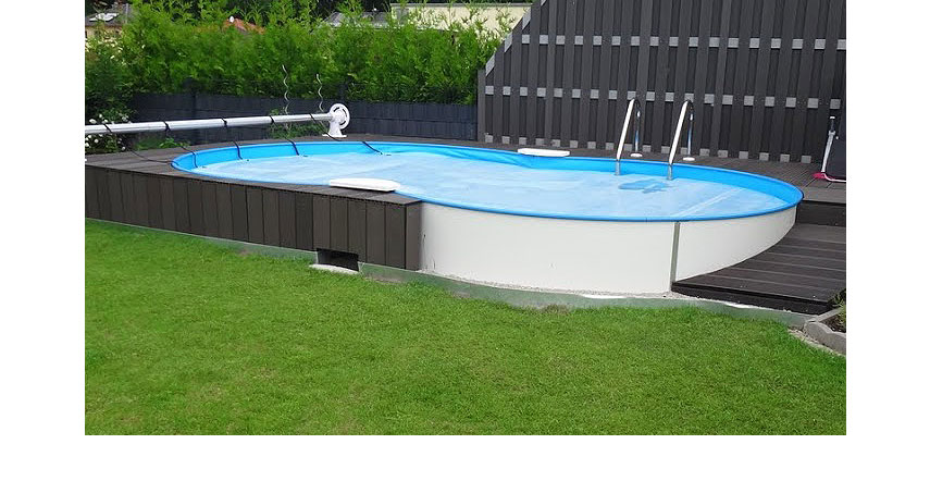 Achtformpool achtformbecken pool poolsana for Pool oval aufstellbecken