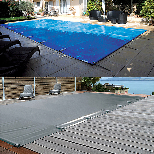 Neu sicherheits poolabdeckungen protect pure protect for Stahlwand schwimmbad