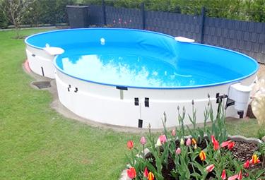 Relativ Aufbau von Stahlwand-Pools in 9 Schritten | POOLSANA - Der Pool EN84