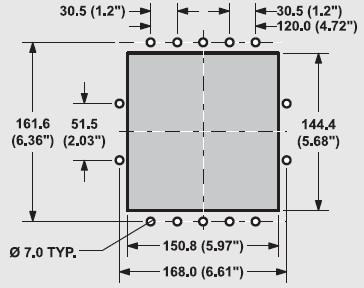 Abmessungen Ansaugöffnung Einbauskimmer Standard