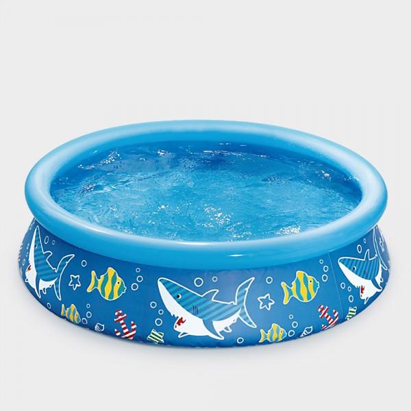 Quick-Up-Pool PRONTO Design 152 x 38 cm blau